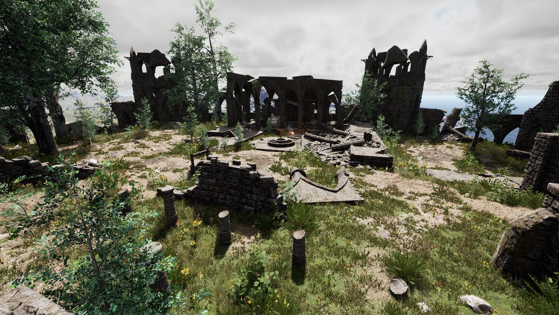Mortal Online Map - Ruins
