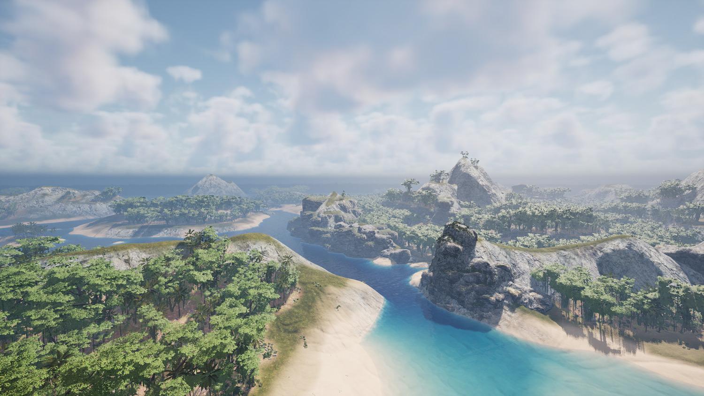 Mortal Online Map - Sunken Isles