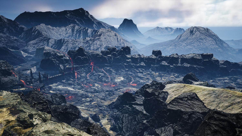 Mortal Online Map - Lava Falls