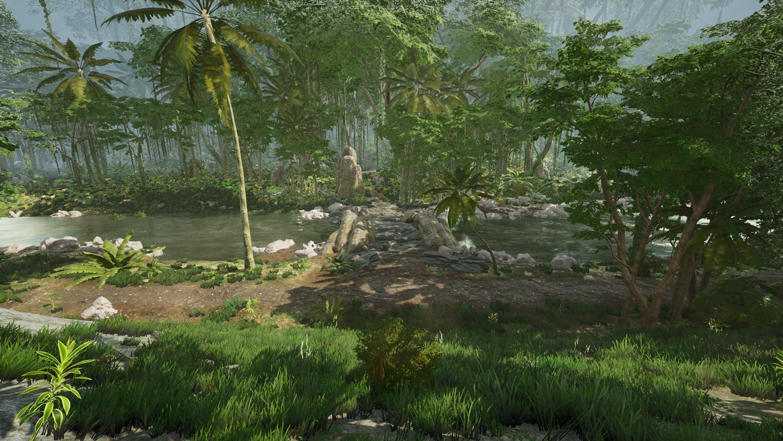 Mortal Online Map - Main Jungle Bridge