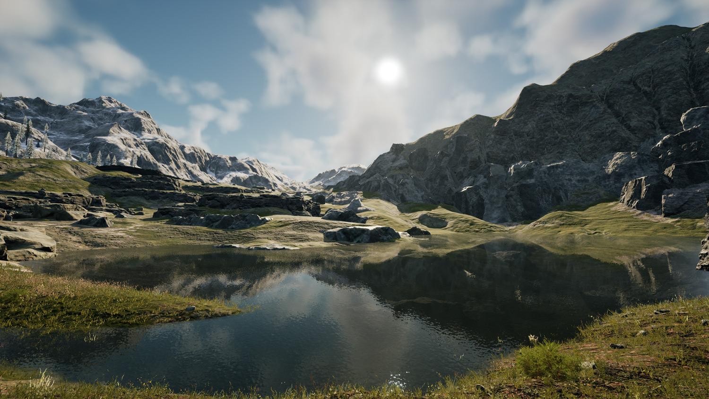 Mortal Online Map - Cave Camp Lake