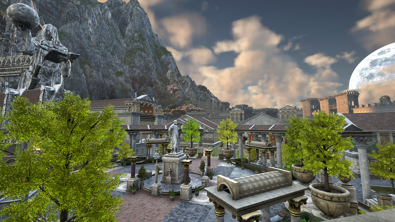 Mortal Online Map - Tindrem - Guarded Town