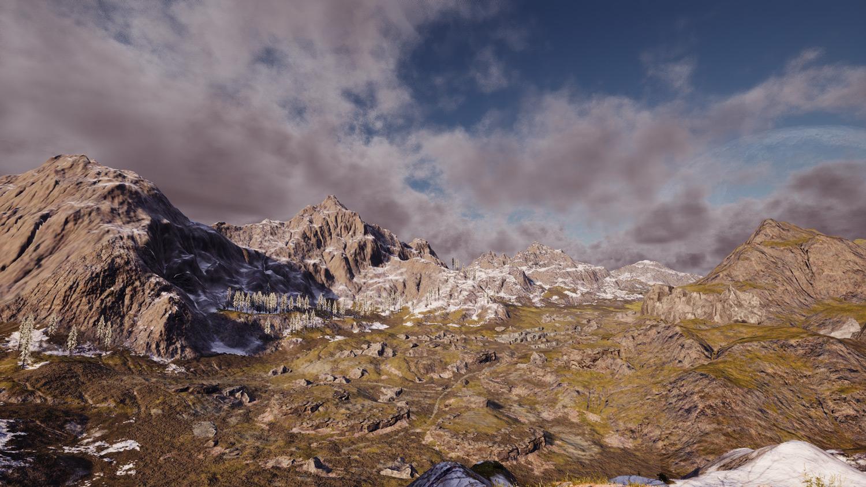 Mortal Online Map - Talus Mountains