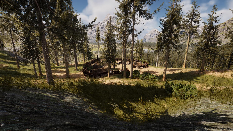 Mortal Online Map - Bullhead Tunnel - Risar Camp
