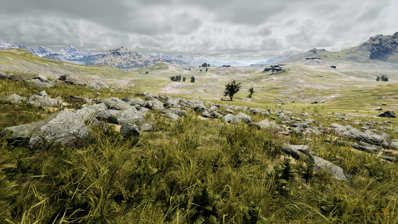 Mortal Online Map - Western Steppe