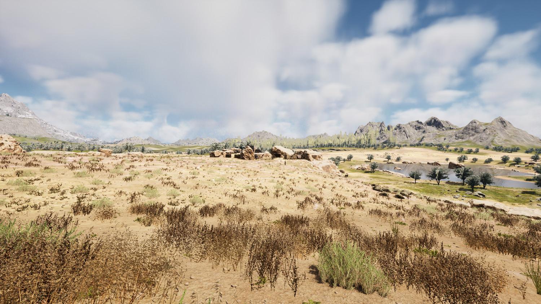 Mortal Online Map - Two Lakes - Bandit Camp