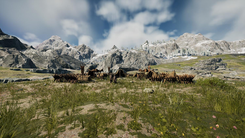 Mortal Online Map - Cave Camp - Risar Camp
