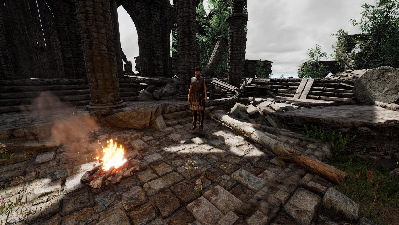 Mortal Online Map - Ruins Priest