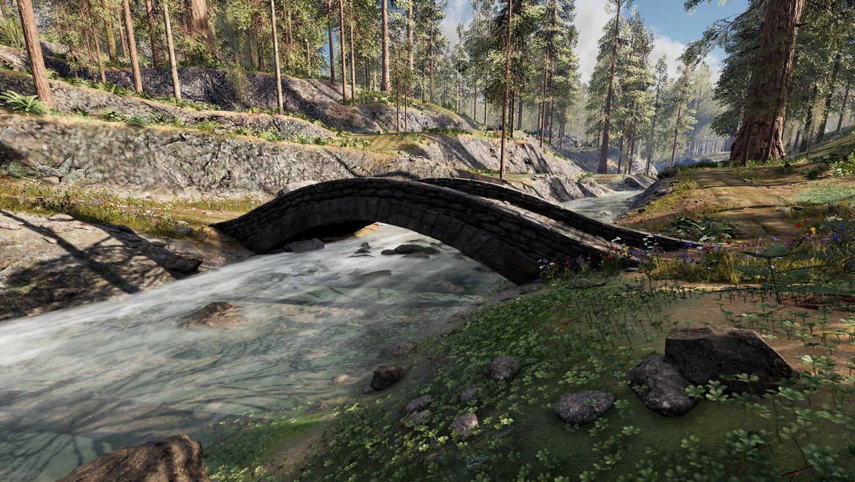 Mortal Online Map - Bakti Bridge