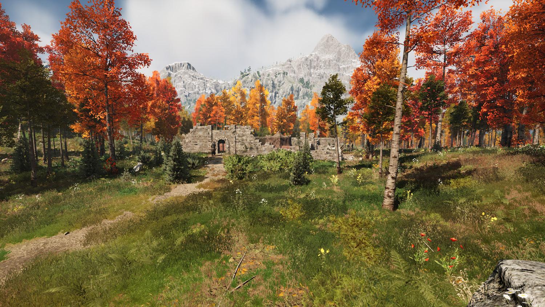 Mortal Online Map - Colored Forest - Bandit Camp