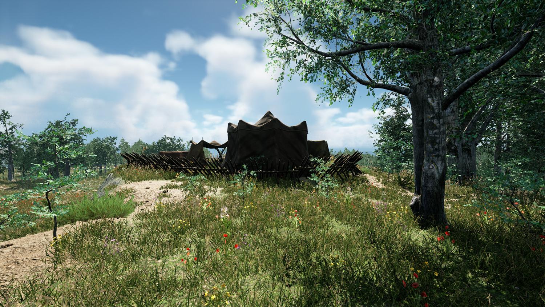 Mortal Online Map - Ruins - Bandit Camp