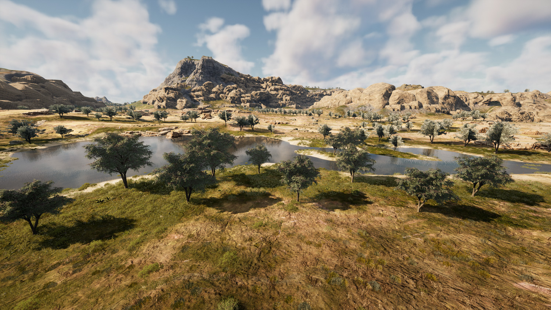 Mortal Online Map - Wolf Lake