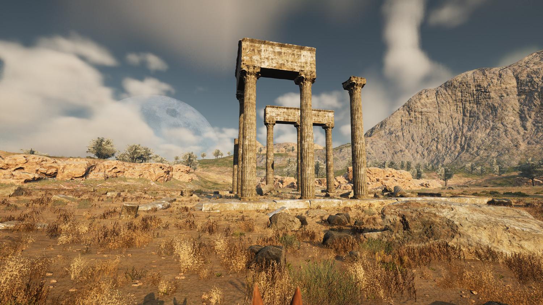 Mortal Online Map - Western Steppe Ruins
