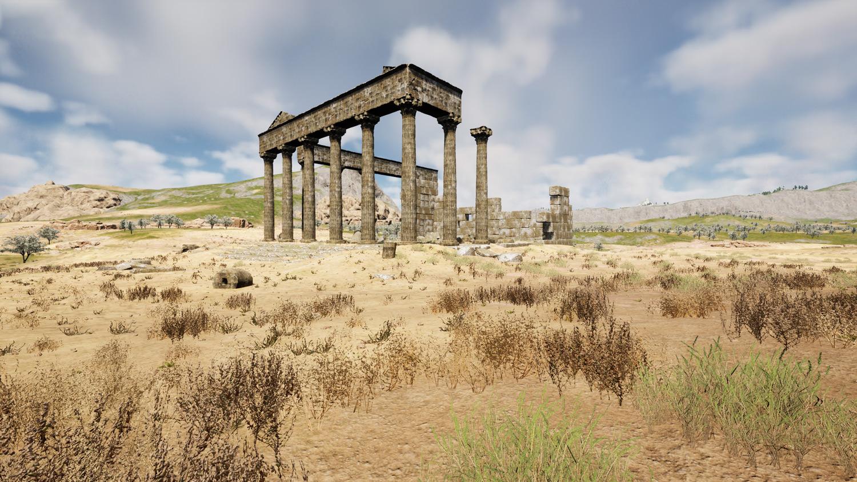 Mortal Online Map - Desert Ruins