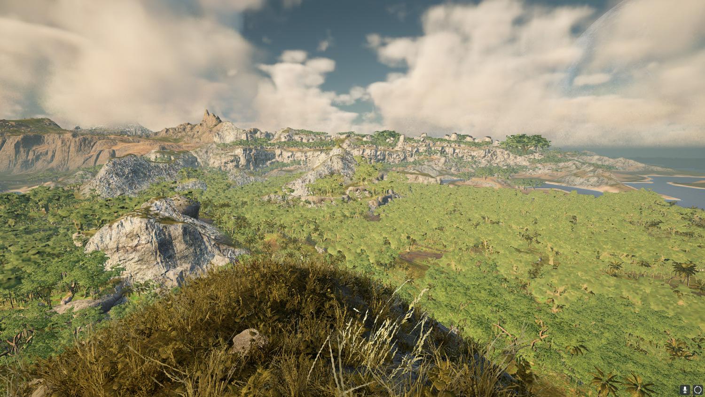 Mortal Online Map - Sunken Island Mountain