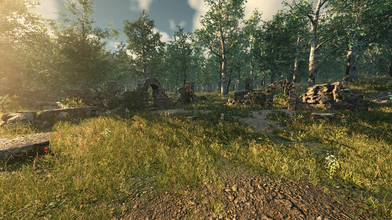 Mortal Online Map - Forest Ruins