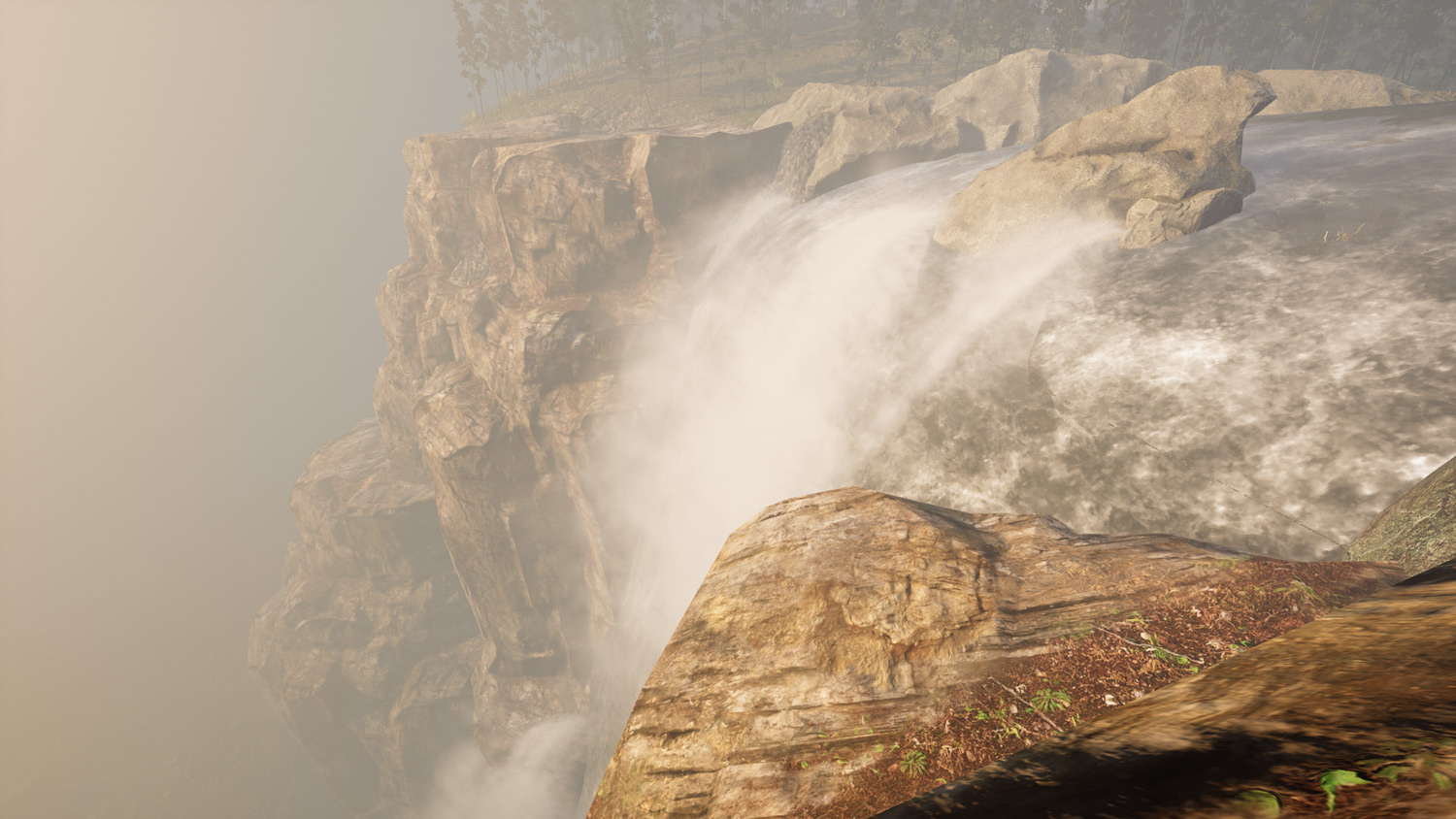 Mortal Online Map - Toxai Waterfall