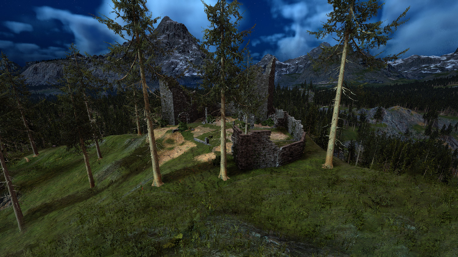 Mortal Online Map - Mountain Tower Ruins