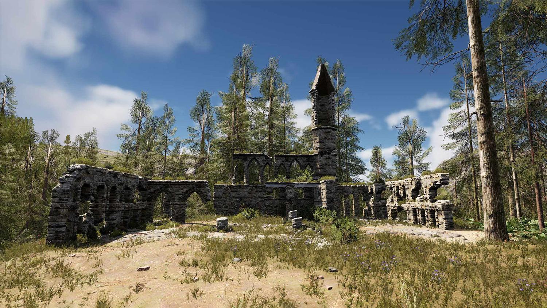 Mortal Online Map - Bakti Ruins