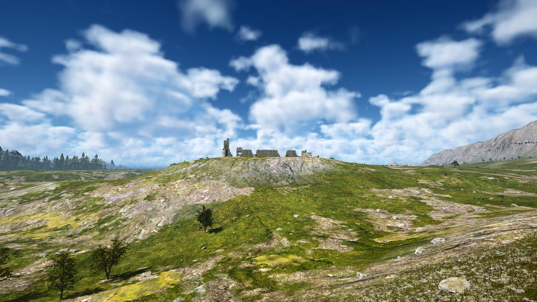 Mortal Online Map - Western Steppe Guild Keep