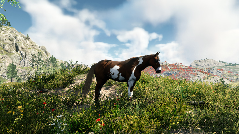 Mortal Online Map - Steppe Horse