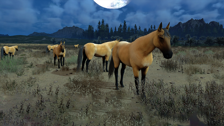 Mortal Online Map - Desert Horse