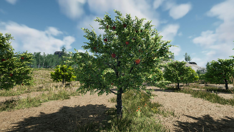 Mortal Online Map - Malus Fruit